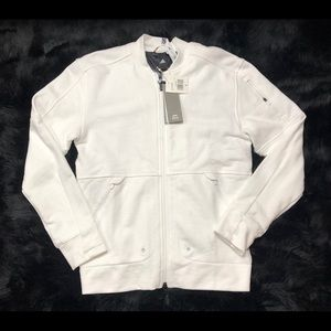 Adidas Arthur Ashe Legacy Bomber Sweater Full Zip